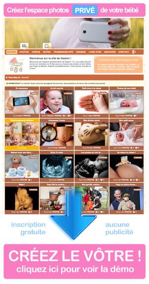 Espace photo privé de son bébé : créez votre blog bébé privé